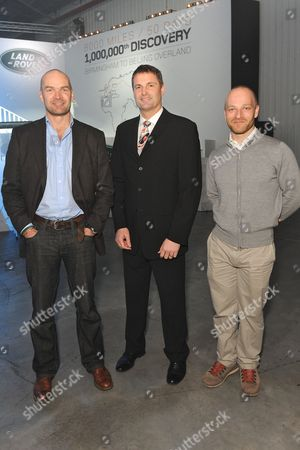 Monty Halls, Phil Popham and Ben Saunders