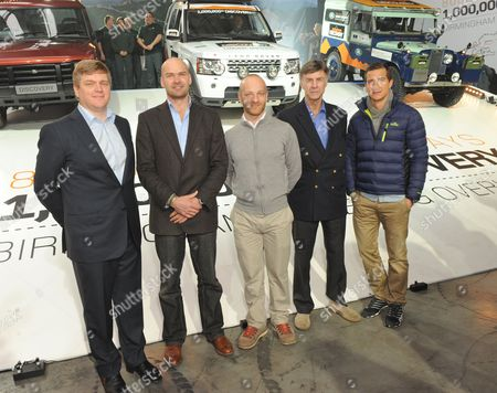 Ray Mears, Monty Halls, Ben Saunders, Sir Ranulph Fiennes and Bear Grylls