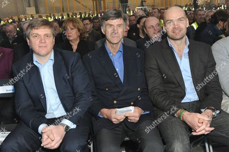 Ray Mears, Sir Ranulph Fiennes and Monty Halls