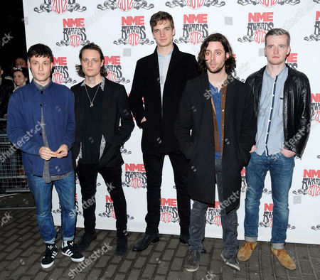 The Maccabees - Orlando Weeks, Hugo White, Rupert Jarvis, Felix White and Sam Doyle