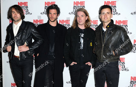 The Vaccines - Justin Young, Pete Robertson, Arni Hjorvar and Freddie Cowan