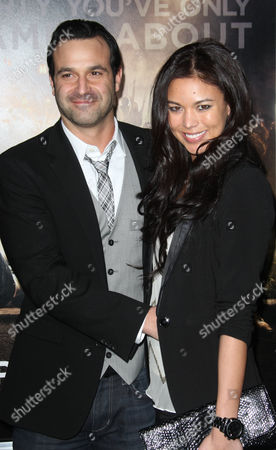 Stock Image of Rob Evors and miss Yang