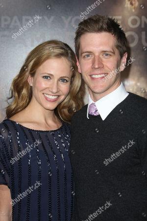 Adam Sztykiel and wife Ellie Sztykiel