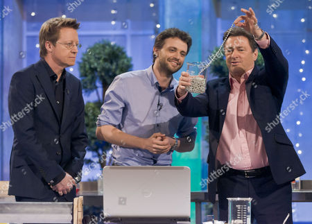 Simon Mayo, Steve Mould and Alan Titchmarsh