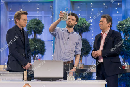 Stock Photo of Simon Mayo, Steve Mould and Alan Titchmarsh
