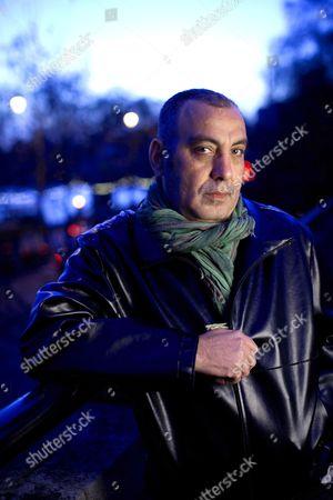 Editorial picture of Egyptian director Khalid Al-Haggar near Aldwych, London, Britain - 06 Jan 2012