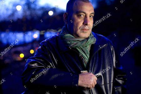 Editorial photo of Egyptian director Khalid Al-Haggar near Aldwych, London, Britain - 06 Jan 2012