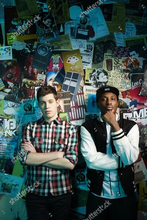 Stock Picture of Chiddy Bang - Noah Beresin and Chidera Anamege