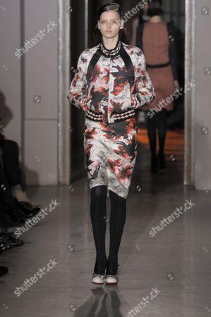 Editorial picture of Rue du Mail by Martine Sitbon show, Autumn Winter 2012, Paris Fashion Week, Paris, France - 01 Mar 2012