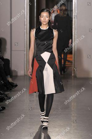 Editorial image of Rue du Mail by Martine Sitbon show, Autumn Winter 2012, Paris Fashion Week, Paris, France - 01 Mar 2012
