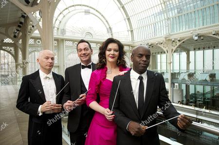 Editorial image of 'Maestro at the Opera' BBC TV Programme photocall, Royal Opera House, London, Britain - 29 Feb 2012