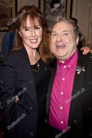 Charlotte Page and Russell Grant