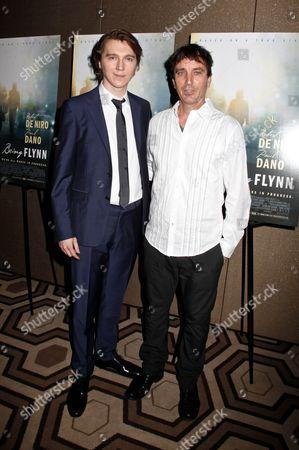 Paul Dano and Nick Flynn