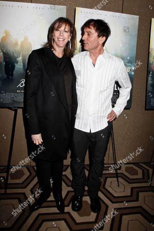 Jane Rosenthal and Nick Flynn