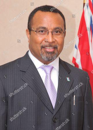 Editorial image of Fiji High Commissioner, Ratu Naivakarurubalavu Solo Mara at the Fiji High Commission, London, Britain - 10 Feb 2012