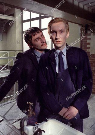 Stock Photo of Stuart Henry and Christopher Sandford