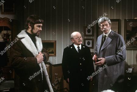 Barry Warren, Bartlett Mullins and John Woodvine