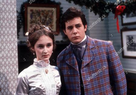 Rebecca Saire as Dinah and Daniel Abineri as Reginald Paulover