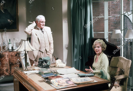 Charles Gray and Glynis Johns