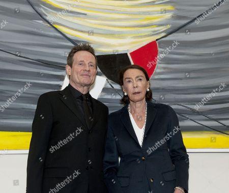 John Paul Jones and Mica Ertegun
