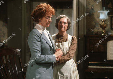 Dame Eileen Atkins and Anne Dyson