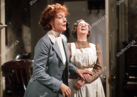 Stock Image of Dame Eileen Atkins and Anne Dyson