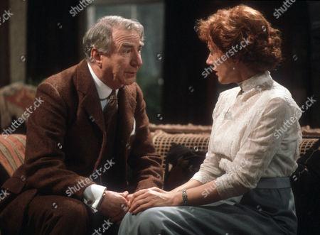 Frank Middlemass and Dame Eileen Atkins