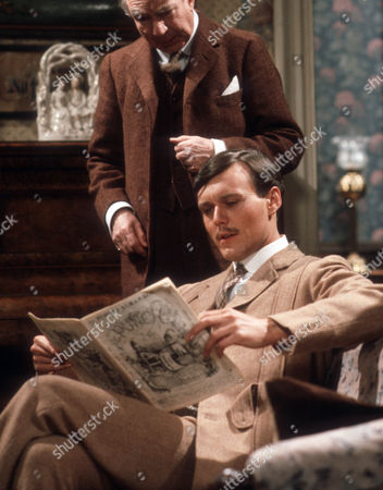 Frank Middlemass and Anthony Head