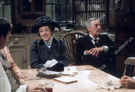Stock Image of Fanny Rowe as Miss Montgomery and Hugh Paddick as Raham