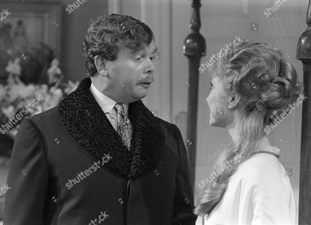 Ronald Lacey as Leicester Paton and Felicity Kendal as Victoria