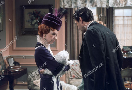Stock Picture of Joan Haythorne as Mrs Shuttleworth and Daniel Massey as Major William Cardew