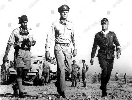 Tobruk,  Nigel Green,  Rock Hudson,  George Peppard