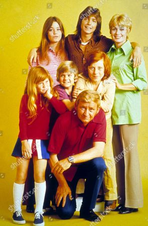 The Partridge Family ,  Suzanne Crough,  Susan Dey,  Dave Madden,  Brian Forster,  David Cassidy,  Danny Bonaduce,  Shirley Jones