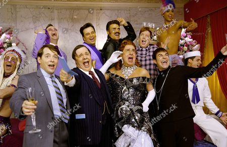 Stock Picture of The Producers: The Movie Musical,  Mike Jackson,  Matthew Broderick,  Peter Bertlett,  Nathan Lane,  Jim Borstelmann,  Brent Barrett,  Gary Beach,  Kathy Fitzgerald,  Roger Bart,  Jai Rodriguez,  Keith Kuhl