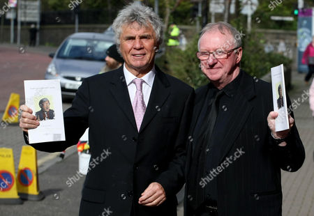 Editorial photo of Funeral of Frank Carson, Belfast, Northern Ireland, Britain - 03 Mar 2012