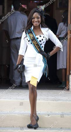 Miss Bahamas Anastagia Pierre