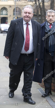 Jim Devine Mp Arriving At Southwark Crown Court.  2.2.11 Pic Shows