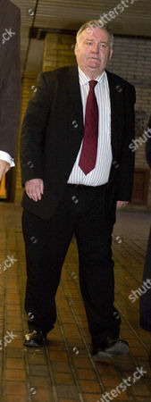Jim Devine Mp Leaving Southwark Crown Court.