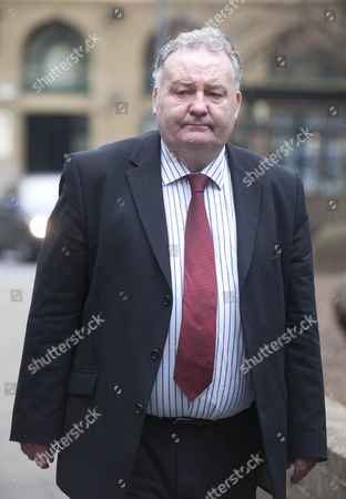 Jim Devine Mp Arriving At Southwark Crown Court.