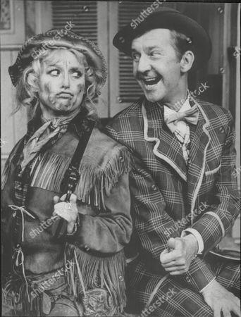Stock Photo of Norman Vaughan And Barbara Windsor In Musical 'calamity Jane'