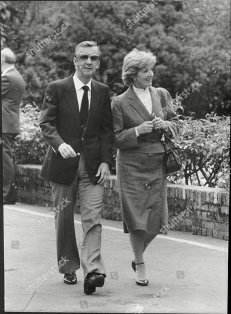 Norman Vaughan And Janet Brown At Eric Morecambe's Funeral
