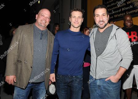 Rick Harrison, Jake Pavelka and Joey Fatone