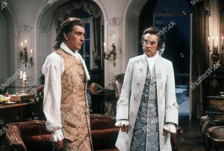 James Villiers as Esteban and Richard Johnson as Raoul