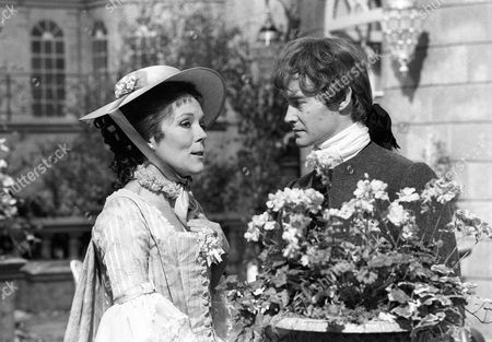 Diana Rigg as Eloise and Rupert Frazer as Jacques