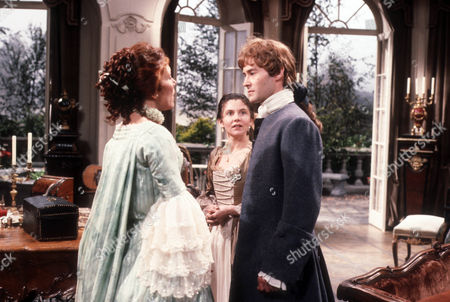 Diana Rigg as Eloise, Mary Chilton as Adrienne and Rupert Frazer as Jacques