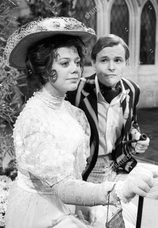 Stock Picture of Louise Hall-Taylor as Kitty Verdun and Osmond Bullock as Jack Chesney