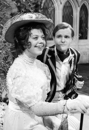 Stock Image of Louise Hall-Taylor as Kitty Verdun and Osmond Bullock as Jack Chesney