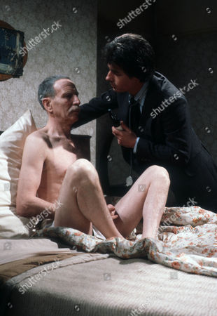 Alfred Burke as Harry and John Nolan as Doctor