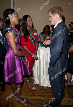Editorial picture of Prince Harry attends a reception for youth leaders at the Sheraton Hotel, Nassau, Bahamas - 05 Mar 2012