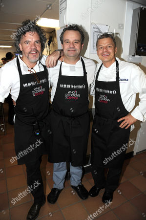 Editorial image of Who's Cooking Dinner? charity event in aid of leukaemia, London, Britain - 05 Mar 2012